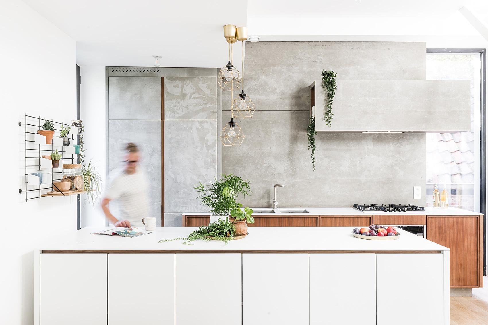 Keukeneiland op wieltjes