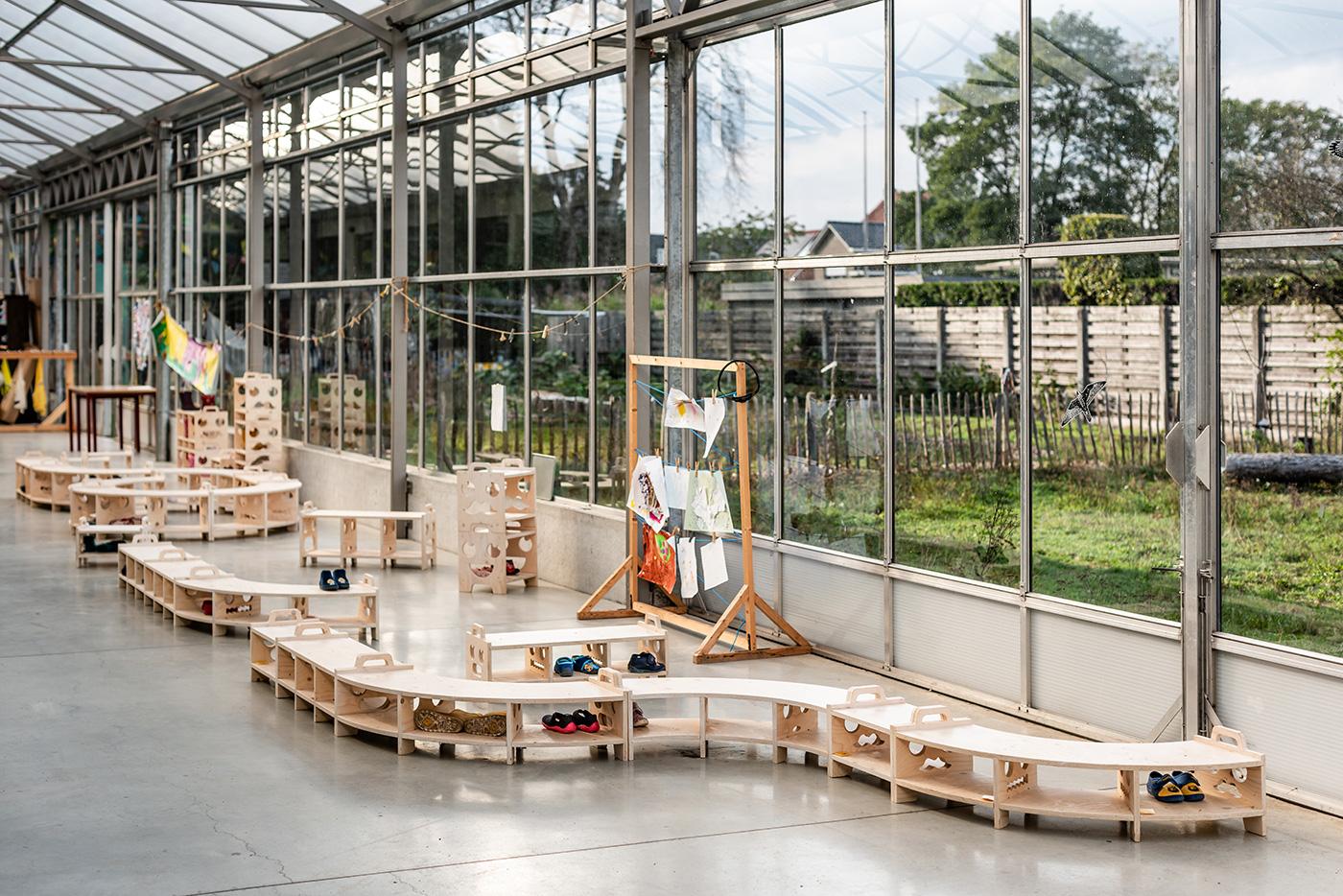 Fermetti Vlindertuin Modulair Opbergsysteem
